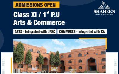 PUC – I & II (Arts & Commerce)